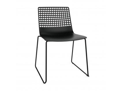 Židle Wire Patin černá