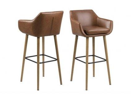 Barová židle Nora Vintage PU
