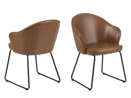 Židle Mitzie Vintage Brandy