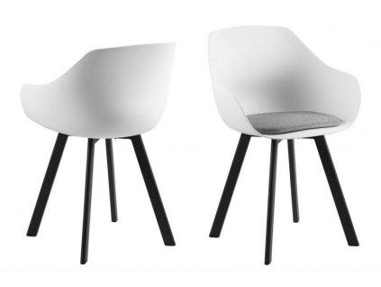 Židle Tina černá bílá