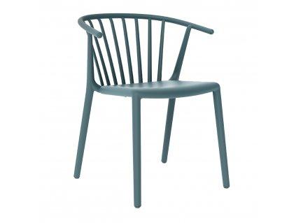 Židle Woody modrá