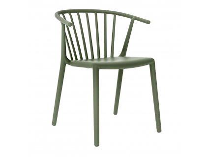 Židle Woody zelená