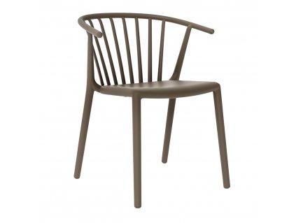 Židle Woody čokoládová