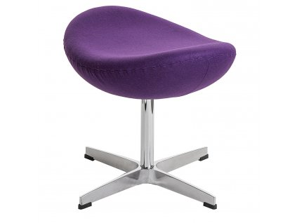 Podnožka Vejce fialový kašmír Premium HMI20