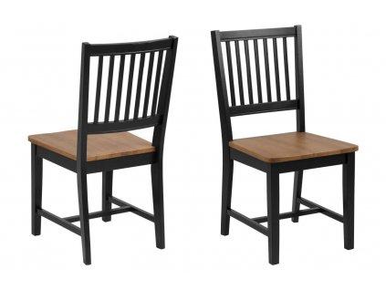 Židle Brisbane černá