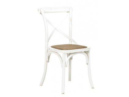 Židle Vintage bílá