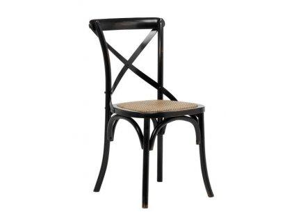 Židle Vintage černá