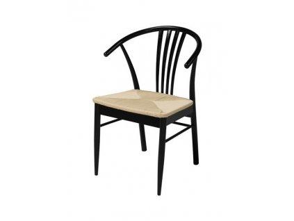 Židle York černá