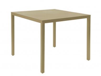 Stůl Barcino 90x90 na 4 nohách pískový