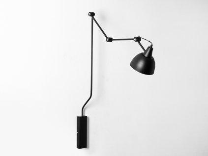 Lampa nástěnná COBEN WALL - černá