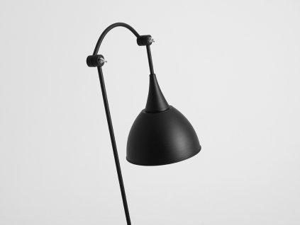 Lampa podlahová DUBY FLOOR - černá