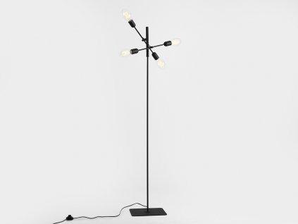 Lampa podlahová TWIGO FLOOR 4 - černá