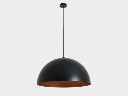 Lampa závěsná LORD 70 - měděno-černá