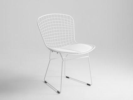Židle WIRE - bílá