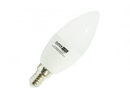 Žárovka LED E14 8W svíčka neutrální