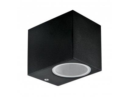 Lampa zahradní nástěnná GU10 černá