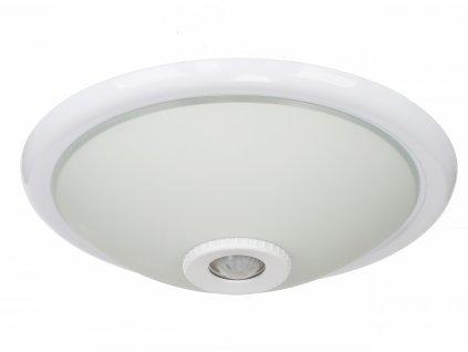 Stropní lampa 2x E27 s čidlem pohybu