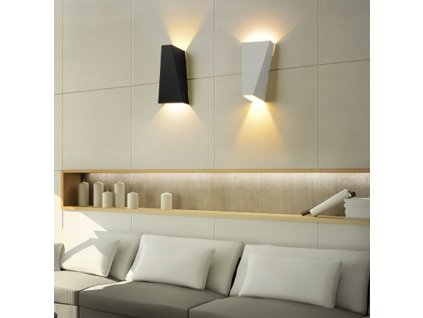 Nástěnná lampa podvojná Catolia LED SuperLED bílá