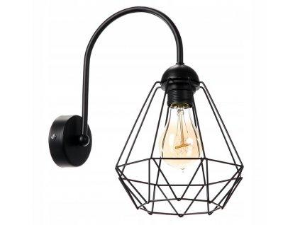 Nástěnná lampa Diamant Slim SuperLED