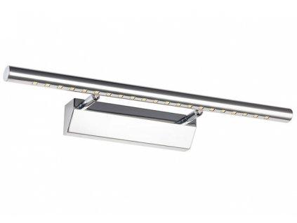 Nástěnná lampa koupelna LED 9W 70 cm bílá teplá