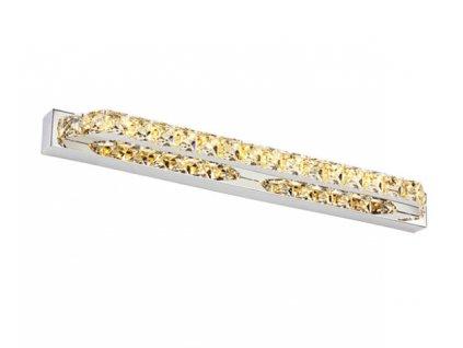Nástěnná lampa koupelna LED 10W 39cm zlatá