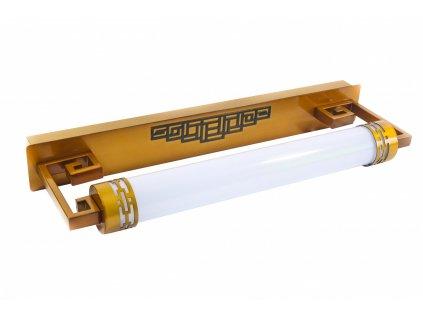 Nástěnná lampa LED koupelna Klasik Retro