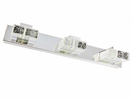 Nástěnná lampa LED koupelna, lampa nad zrcadlo 9W 46 cm