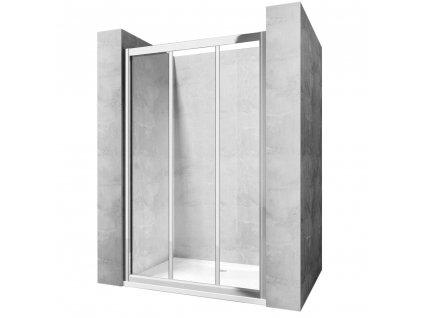 Dveře sprchové Alex - Šířka dveří: 130 cm