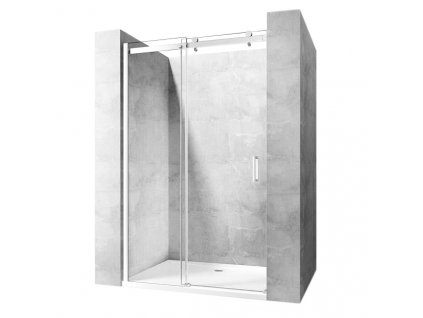 Dveře sprchové Nixon-2 100 - Profil dveří: pravé