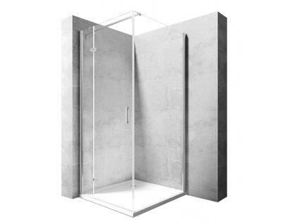 Kabina sprchová Morgan - Rozměry kabiny: 80 x 120 cm