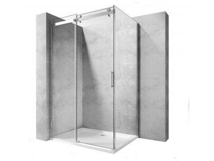 Kabina sprchová Whistler - Rozměry kabiny: 80 x 120 cm