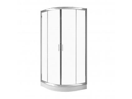Kout sprchový se sprchovou vaničkou Cosmo - Rozměry kabiny: 80 x 80 cm