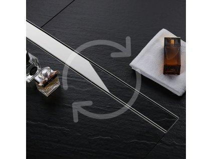 Odtok liniový Pure Neo - Délka výpustě: 70 cm