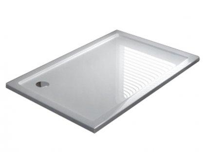Vanička sprchová akrylátová Porta 80 x 100 - Profil: levý
