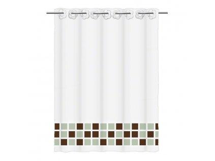 Závěs sprchový textilní SC2864A - Rozměry závěsu sprchy: 180 x 200 cm