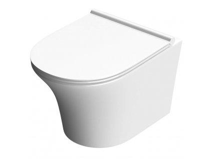 Mísa záchodová závěsná Sergio Rimless