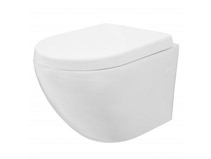 Záchodová mísa zavěsná Carlo Mini Rimless
