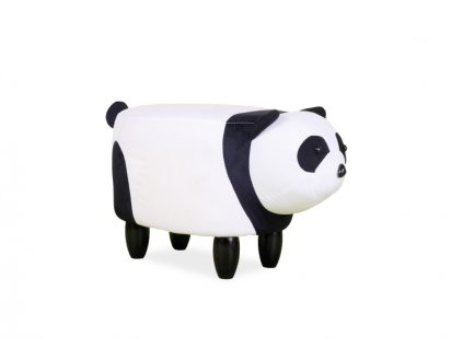 Panda PAULINKA barva bílá/černá