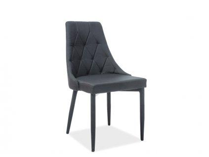 Židle TRIX černé polstrování č.11