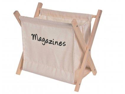 Stojan na časopisy MESS béžový
