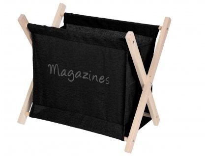Stojan na časopisy MESS černý