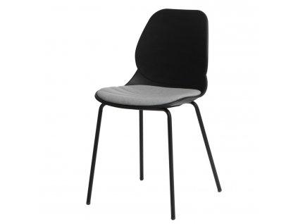 Židle LAYER polstrování č.4 černá