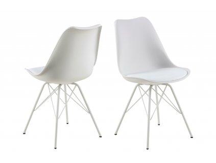 Židle ERIS PP bílá/bílá