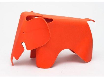 Stolička SLŮNĚ oranžová