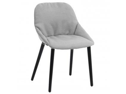 Židle SOFIE světle šedá INTESI