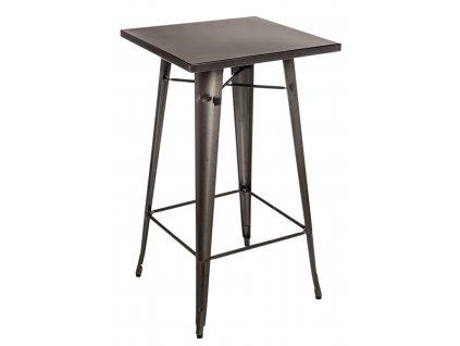 Stůl barový PARIS metalický