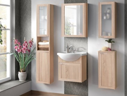 Skřínka koupelna PIANO SONOMA sestava