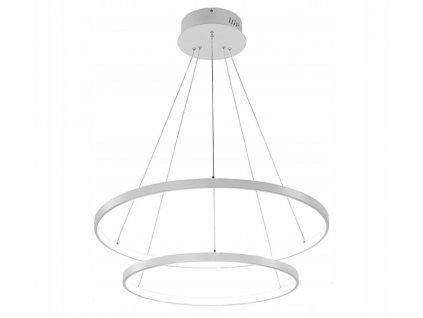 Lampa závěsná Ring lustr LED 63W bílý