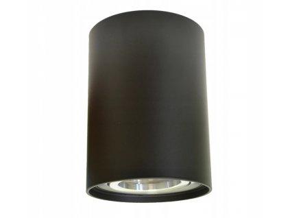 Svítidlo na povrch nastavitelné GU10 VALSE černé-chrom