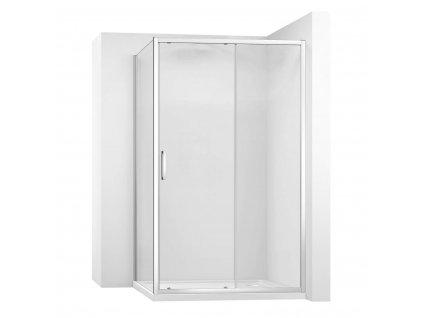 Kabina sprchová REA SLIDE PRO rohová |Varianta produktu - dveře: 140 x Stěny: 80